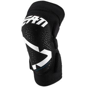 Leatt 3DF 5.0 Knee Guards Barn white/black